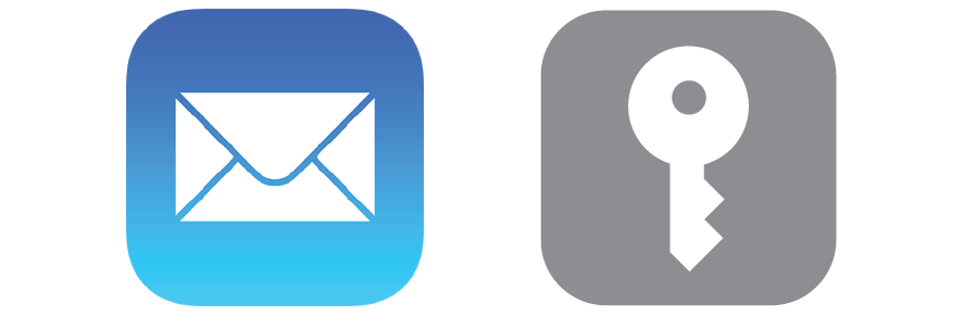 ... Passwords' icon which is located above the Mail app icon shown on the right below, now open the correct icon. For iOS 11 users skip to section 4.