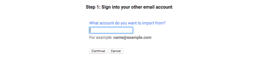 Account to be added to Gmail address